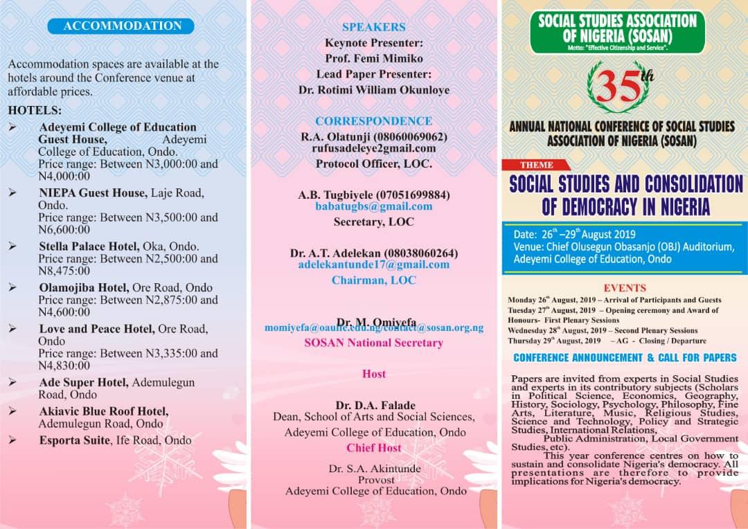 Home | Social Studies Educationists Association of Nigria